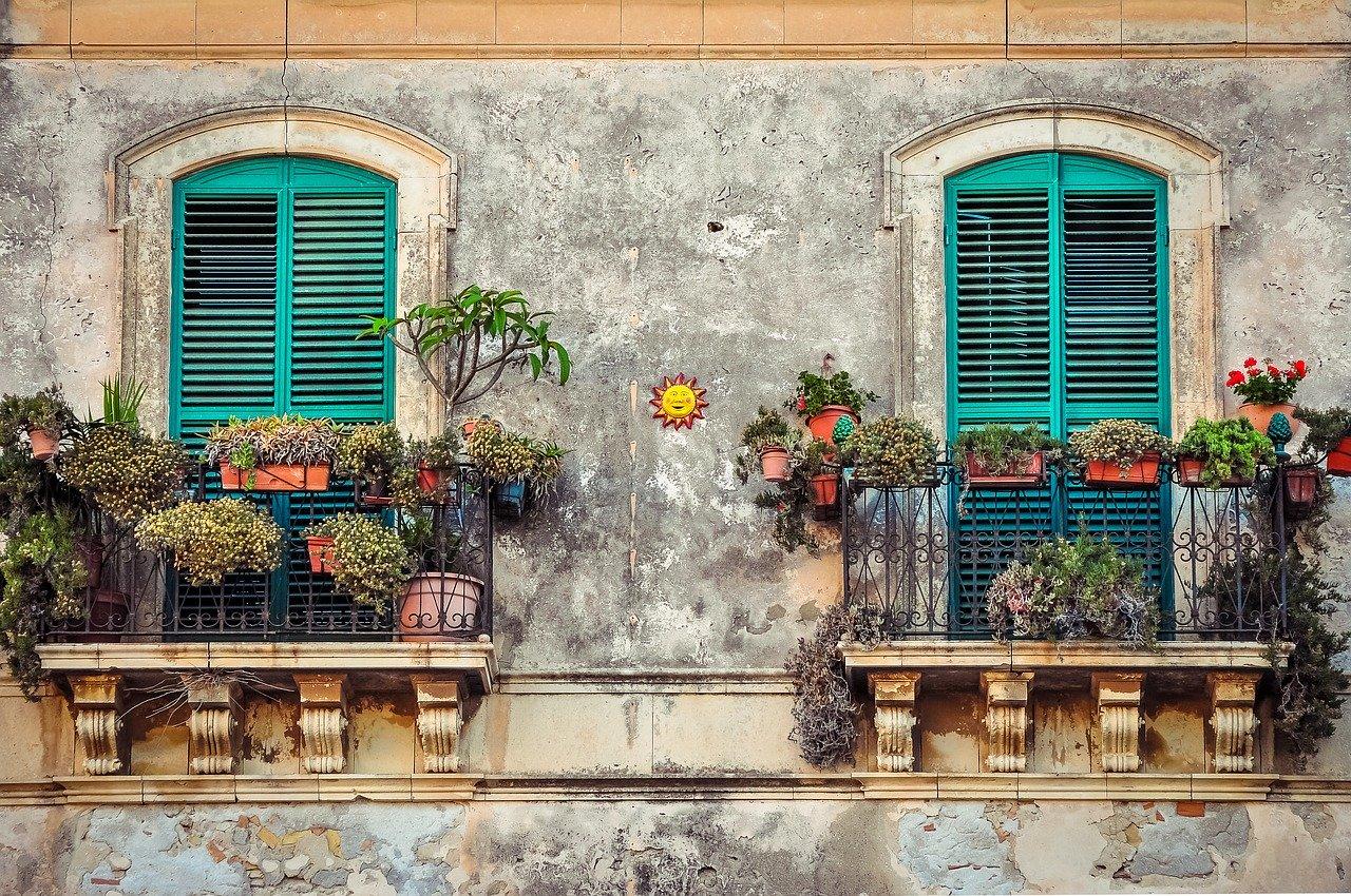 Ein Haus mit Balkon?